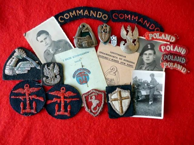 Commando badges