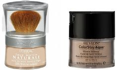 Makeup Dupes - bare minerals -revlon colour stay or Loreal true match