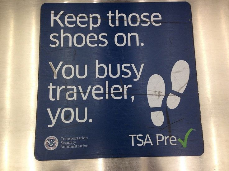 Sign Up For TSA Precheck or Global Entry and buy a portable charger and other travel tips