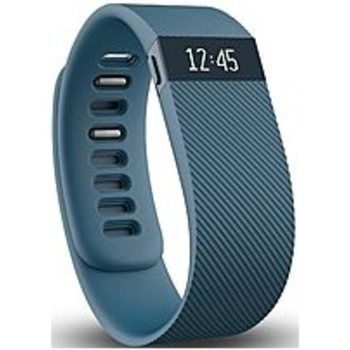 Fitbit Charge FB404SLS Wireless Activity Tracker and Sleep Wristband - Small - Slate