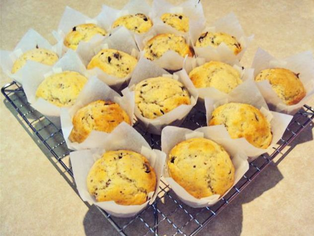 Banana and Chocolate Chip Muffins - Best Recipes