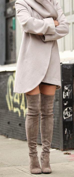 BeyazBegonvil I Kendin Yap I Alışveriş IHobi I Dekorasyon I Kozmetik I Moda blogu: Diz Üstü Çizmeler Nasıl Kombinlenir ?