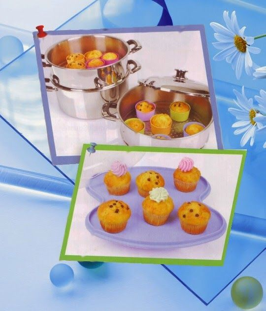 Cup Cake Kukus