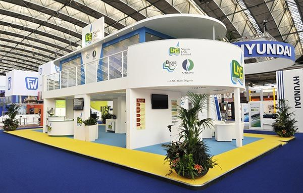 Exhibition Stand Design Double Deck : Double decker exhibition stand nigeria lng doble