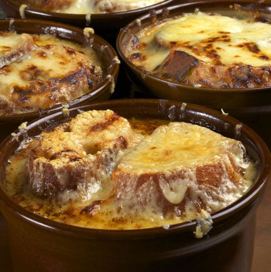 Making French Onion Soup