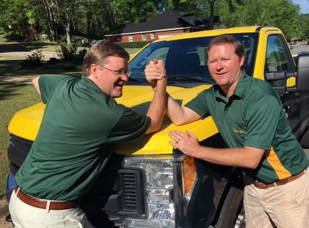 #NationalSiblingsDay was a success for two of our franchisees. Grant & Kyle Faulk of Weed Man Dothan appeared on their local @WSFA news channel. Check it out here!