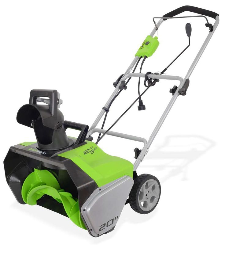 Greenworks 2600502 13 amp 20inch corded snow thrower