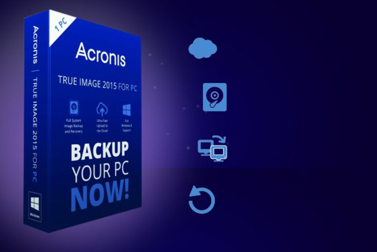 Acronis True Image 2015 PC Backup