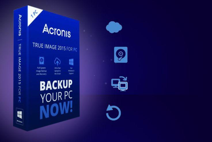 Acronis True Image 2015 PC Backup