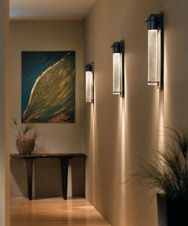 The wall sconces we selected for the stairwell.
