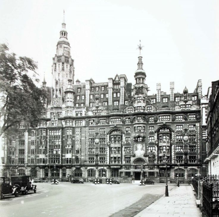 220 best lost london buildings images on pinterest for Hotels ussel