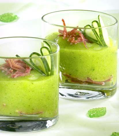 Courgettemousse met ham | Colruyt