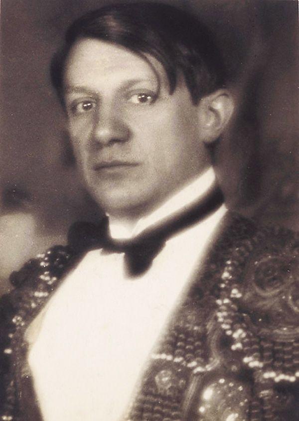 Пикассо на балу графа де Бомона, Париж, 1924, Ман Рэй, фото, фрагмент
