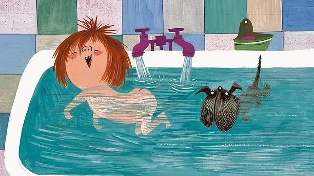 Lucía Manchitas y su perro Pegotes son los protagonistas de este relato, repleto de humor e ironía. ¿Lo lees conmigo?