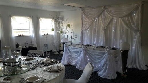 Make an appointment to visit our showroom to plan your next function.  www.csevents.co.za