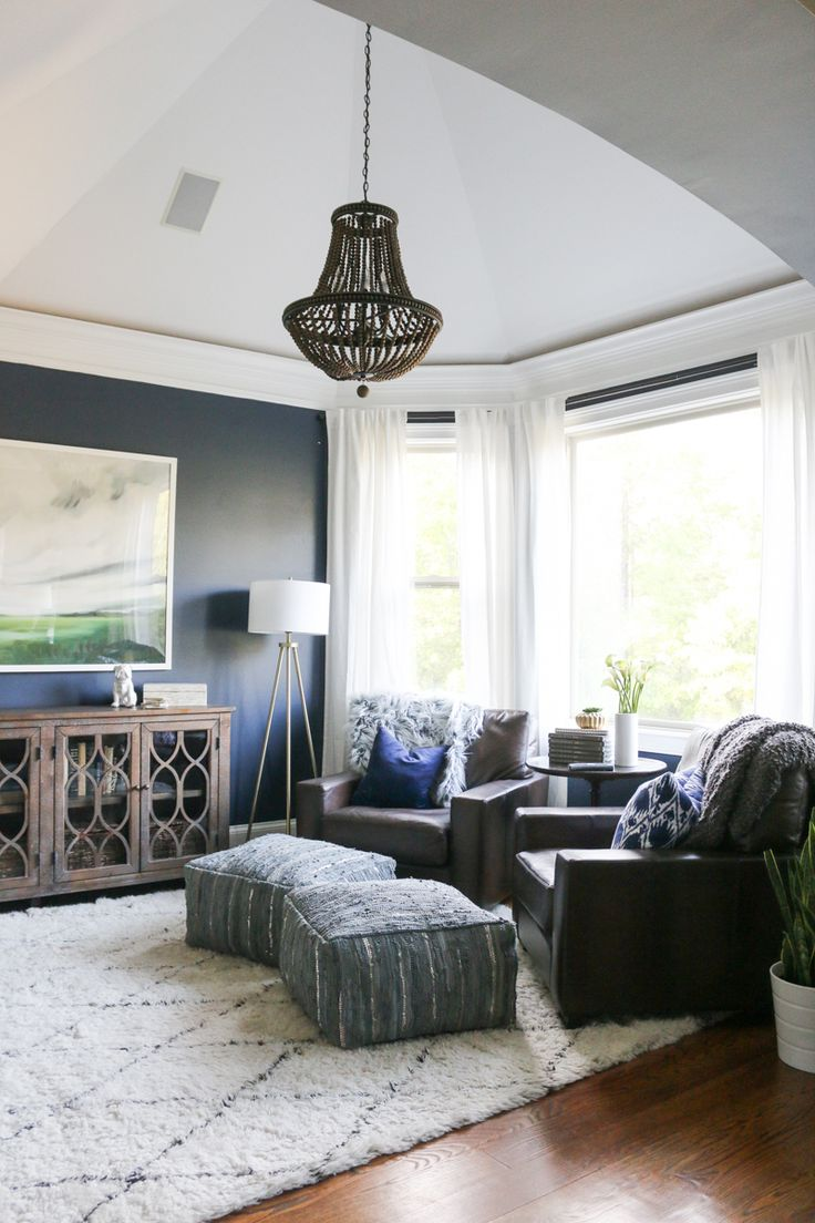 Sitting Room Makeover Reveal |  check out all the details of the transformation on the blog | Bower Power Blog