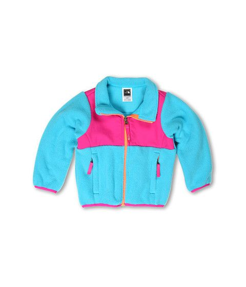 The North Face Kids Girls' Denali Jacket (Toddler) R Turquoise Blue/Linaria Pink - For next year?