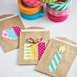 Cute use of washi