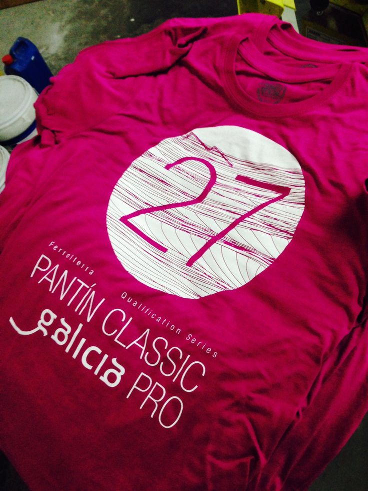 Camiseta Pink Pantin Classic Pro