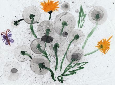 Нестандартные методы рисования :: Сайт учителя начальных классов Олексик Т.Б.
