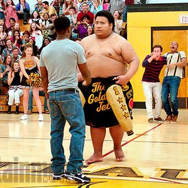 Hot: Central Intelligence: Dwayne Johnsons high school flashback required some CG muscle