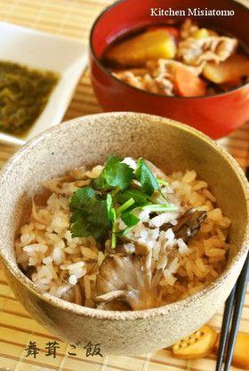 我が家の舞茸ご飯 by ミシャトモ [クックパッド] 簡単おいしいみんなのレシピが274万品