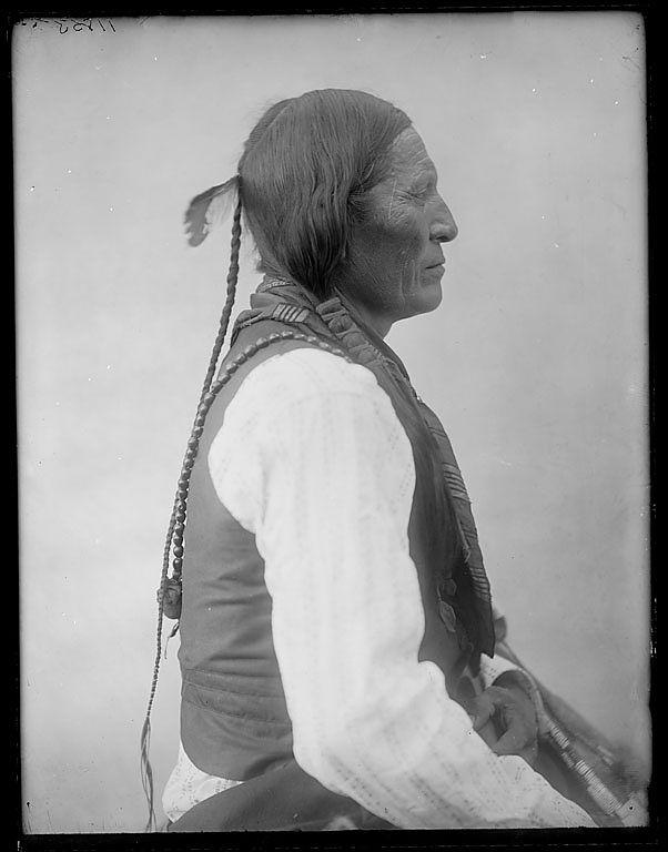 Вождь Шайенов, Оклахома, 1903.