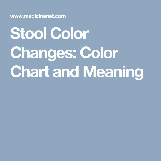 Stool Color Changes Color Chart And Meaning Health Tips