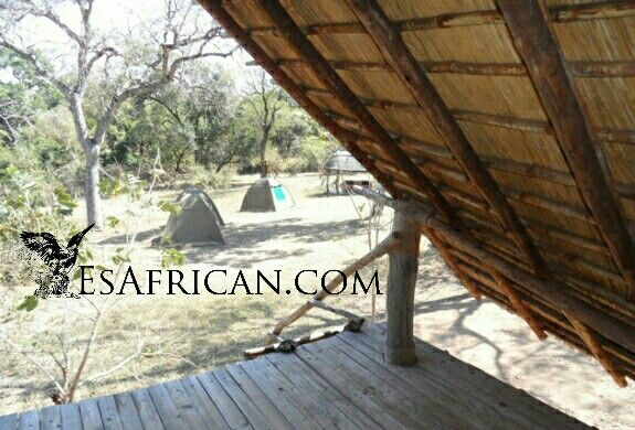 View from the raised #camping deck #Majete Game Reserve #CommunityCampsite #Malawi