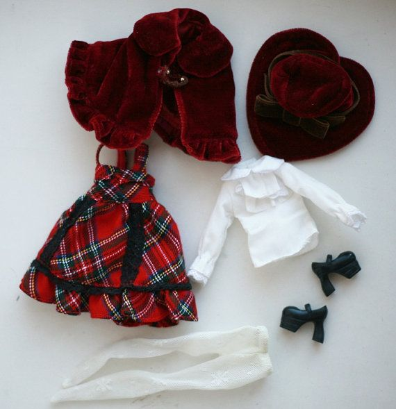 SALE Takara Blythe Stella Savannah Dress Set by chercheto on Etsy