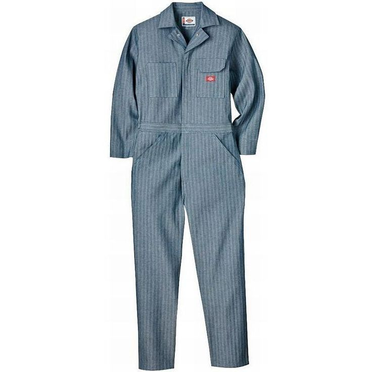 Dickies Men's Fisher Stripe Cotton Coveralls 48977