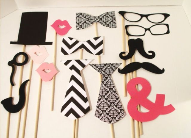 Photo booth props <3