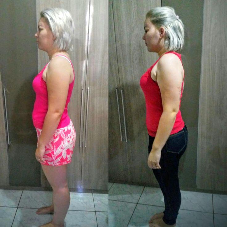 É maravilhoso quando nossos clientes recebem resultados além dos esperados. Nossa cliente começou com 78 kilos e em um mes conseguiu perder 9 kilos! Seu peso ficou em 69.  Adquira o seu já!