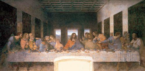 La última cena autor Leonardo da Vinci
