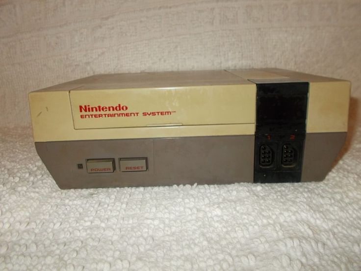 Nintendo NES Video Game Console For Parts Or Repair Only As Is  #Nintendo