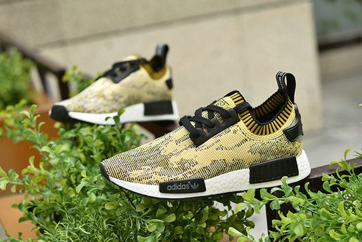 best website 65f80 c4daf 2018 Buy Unisex Adidas Originals NMD Runner PK Primeknit Gold Black Shoe