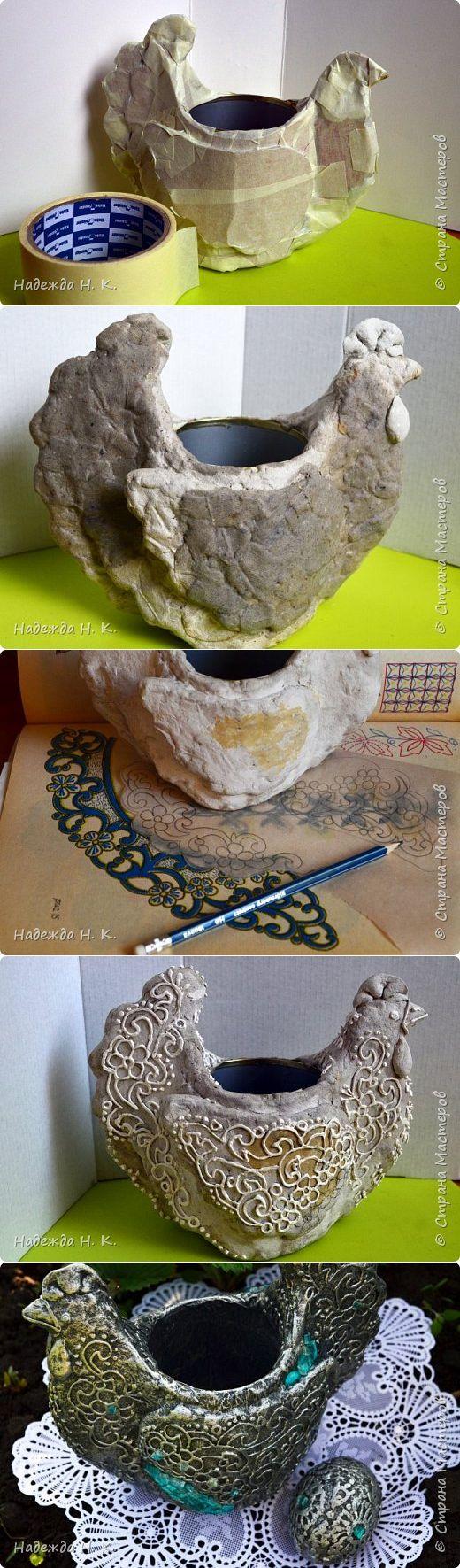 Пасхальная серебряная курочка с сюрпризом. | Страна Мастеров