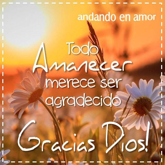 #GraciasDios #Amanecer #agradecido #Jesucristo #DiosEsBueno #DiosEsFiel…