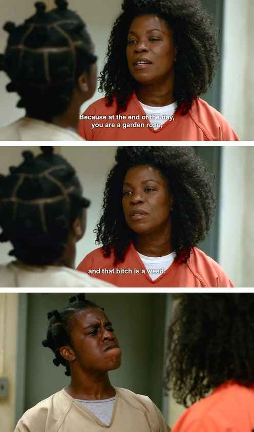 """Vee on being a strong, confident woman:   The 25 Greatest Lines From """"Orange Is The New Black"""" Season 2"""