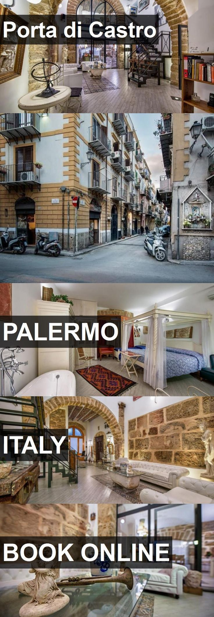 Hotel Porta di Castro in Palermo, Italy. For more information, photos, reviews and best prices please follow the link. #Italy #Palermo #travel #vacation #hotel