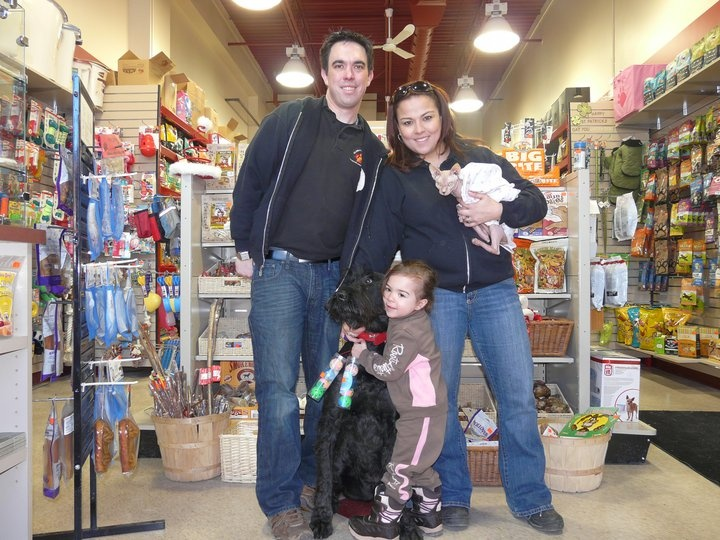 "Meet Karla & Shawn! They decided to become part of the ""specialty pet"" world when they welcomed their Giant Schnauzer, Pepe, into their family. When they decide to open a Global Pet Foods store the Kanata store was ""born"" & 18 months later they opened a 2nd store in Hintonburg. Karla ensure that both locations have a top notch sales team with a high level of knowledge of pet food nutrition & overall pet care. These are the reasons why their customers love to shop in their stores!"