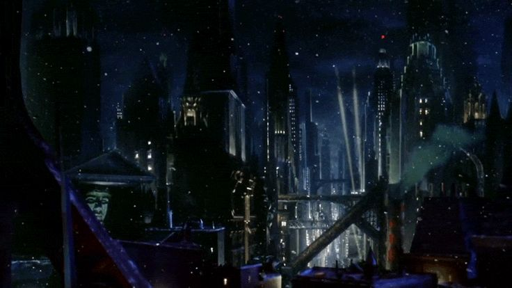 Batman Returns 1992, Tim Burton #LogoCore