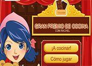 Premio cocina Rachel Chocolate   juegos de cocina - jugar online