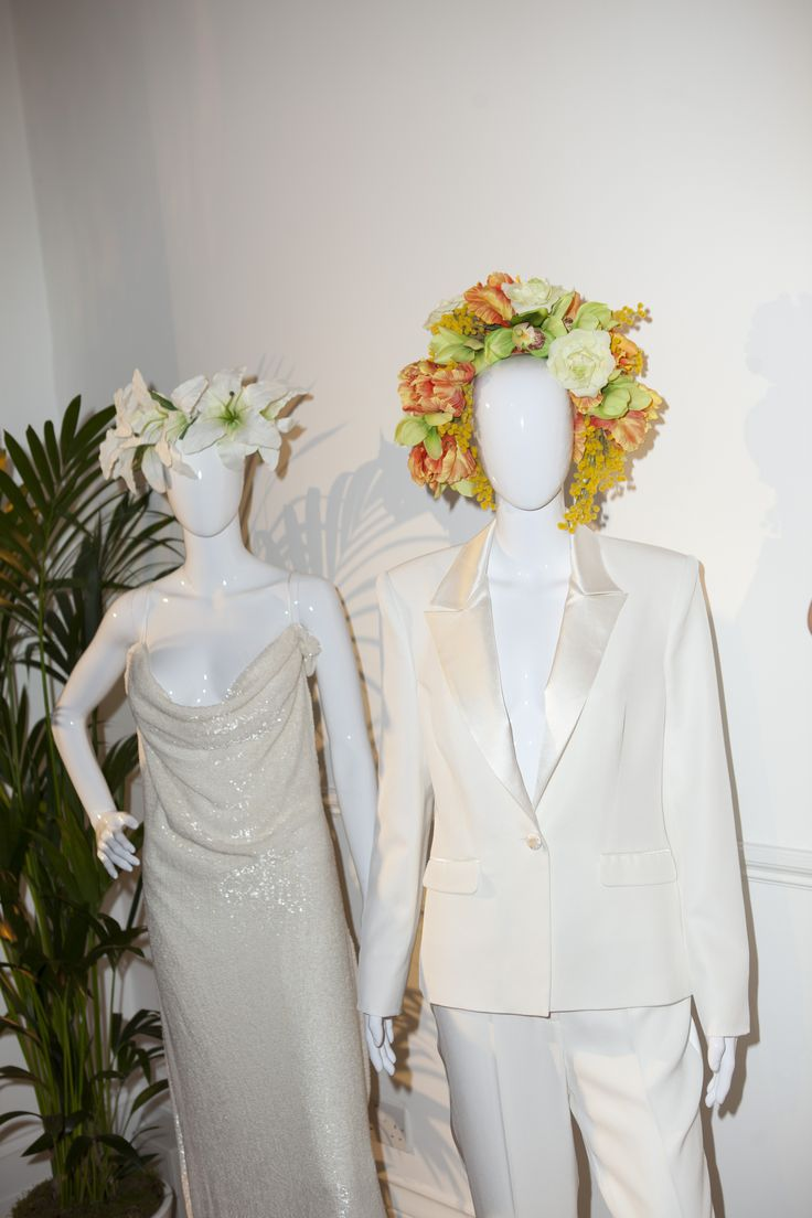 TALLULAH'S TRINKETS  flower crowns SAVANNAH MILLER bridal collection found at THE WEDDING CLUB LONDON