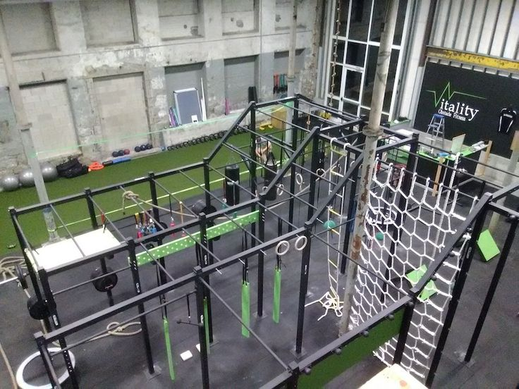 Custom Ninja Obstacle Race Trainer Pull-Up Rig