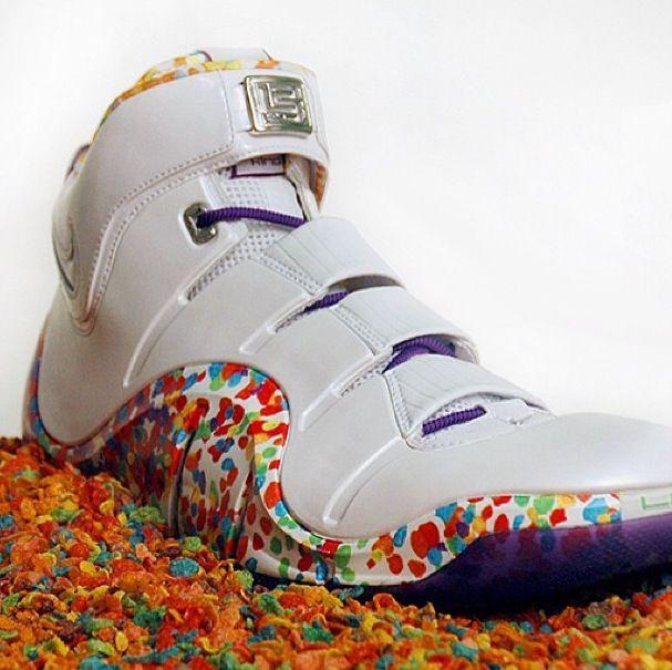 nikes zoom fruity pebble iv fruity lebron iv lebron shoes classic chicFruity Pebbles Lebrons