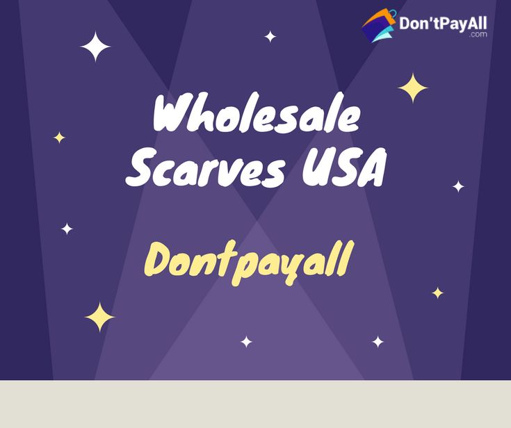 Serving in the scarfs wholesale business for over 15 years, Wholesale Scarves USA carries 1000+ styles of high quality Scarves, Pashmina, Wraps, Shawls, Cashmere feel scarves, Stoles, etc., all available for purchase at wholesale rates. Check out all the latest Wholesale Scarves USA Coupon Codes & Discount Deals at Don't Pay All. Hurry Up! Experience an ultimate blend of professional service and quality products now