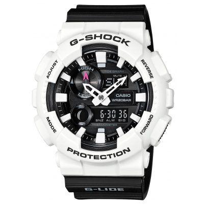 Sportliche Armbanduhr von Casio.  https://www.uhrcenter.de/uhren/casio/g-shock/g-shock-g-shock-herrenarmbanduhr-gax-100b-7aer/
