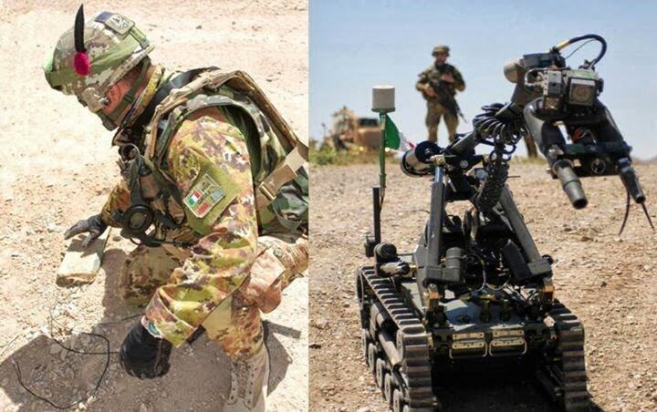 Italian Army Explosives Demolition Unit