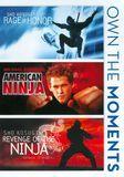 Rage of Honor/American Ninja/Revenge of Ninja [3 Discs] [DVD]